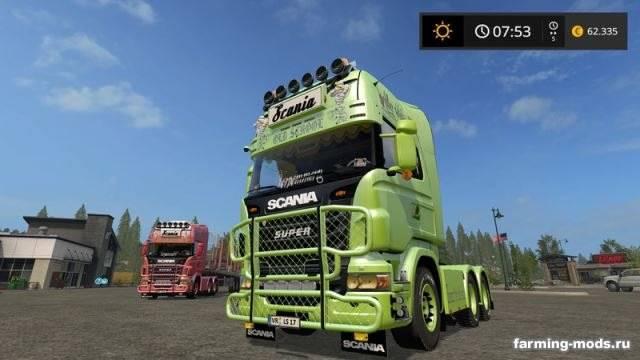 "Мод ""Scania V8 Old School v 1.1"""