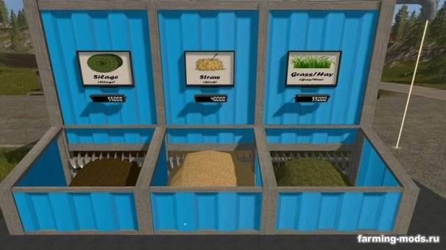 Мод Mixing Station - GTXM (MS-2001) v 1.5.1 для Farming Simulator 2017