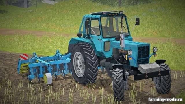 "Мод ""МТЗ 82 Беларус 4WD v 1.1"""