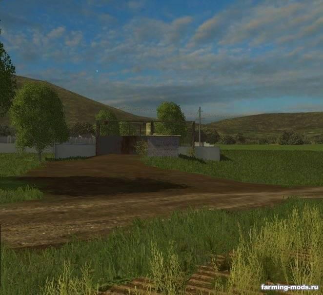 "Мод ""Карта Валентиновка v 2.0 для Farming Simulator 2015"