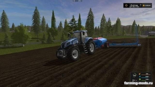 "Мод ""Lemken Solitair12 Multifruit Seeder Mod v 1.0"""