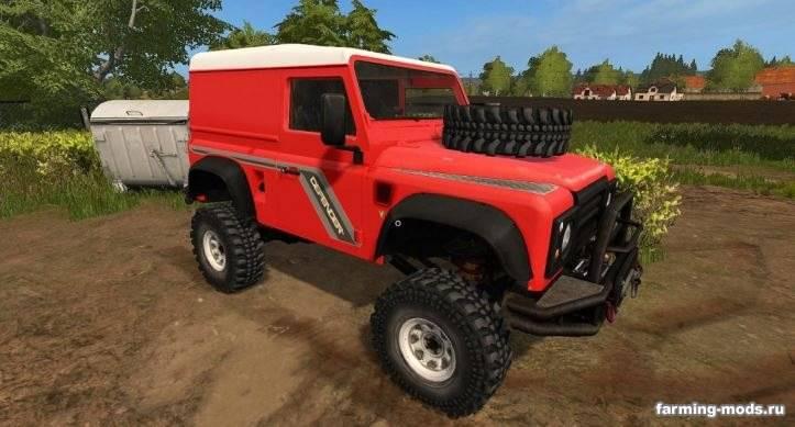 "Мод ""Land Rover Defender 90 v 1.0"""