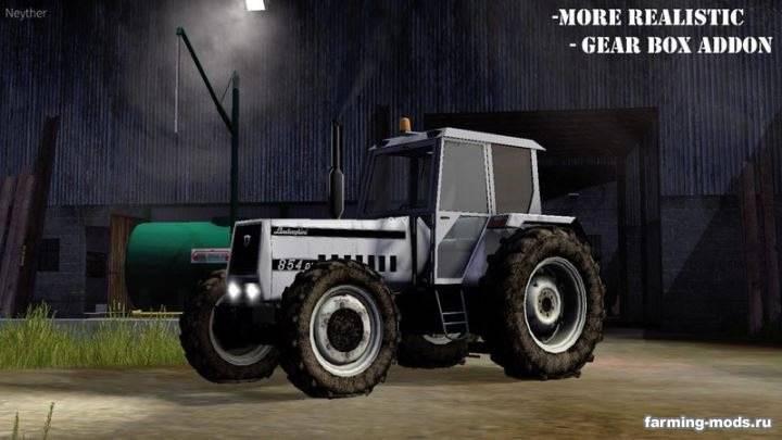"Мод ""Lamborghini 854 v 2.0 More realistic"""