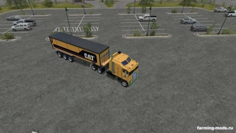 "Мод ""Пак Cat Truck + Trailer"""