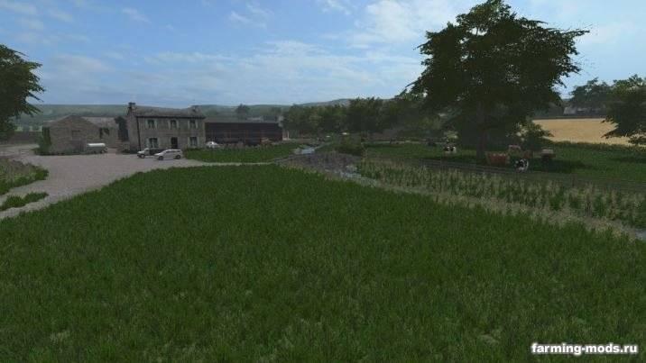 "Мод ""Карта Dowland Farm v 1.0"""