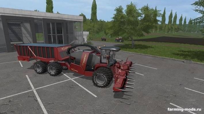 "Мод ""Читерский комбайн Krone Big X Cargo v 1.0"""