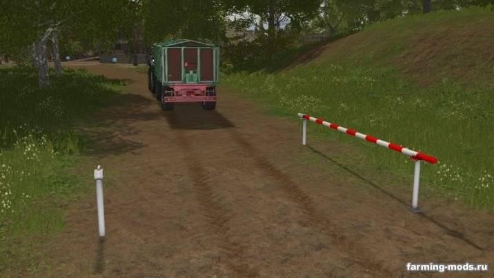 "Мод ""Пак Road Barrier v 1.0"""