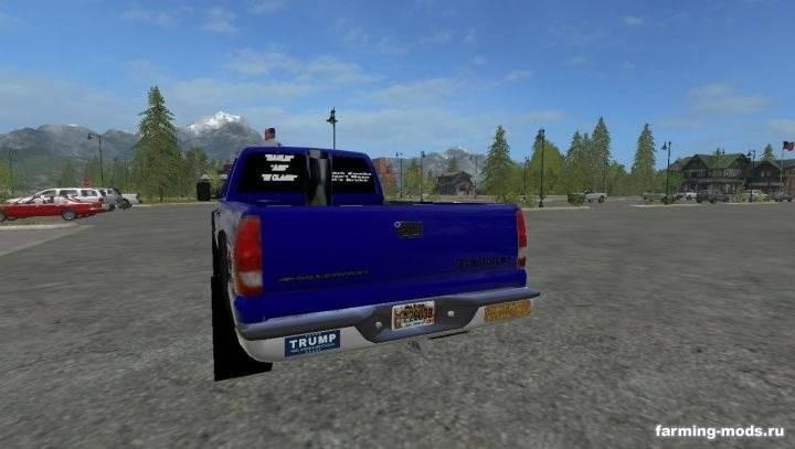"""Мод """"Chevy Silverado 3500HD Pulling Truck v 1.1"""""""