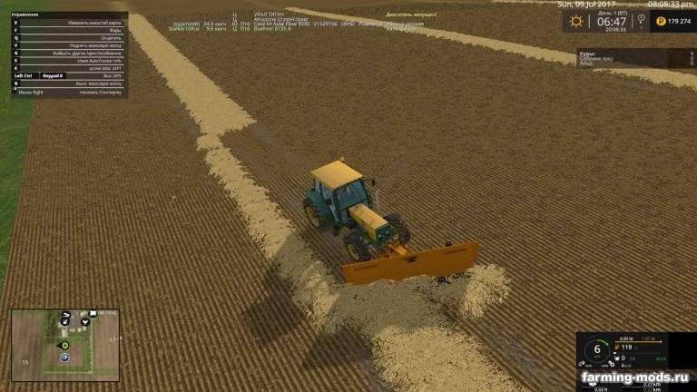 "Мод ""Snowplow v 2.1"" для Farming Simulator 2015"
