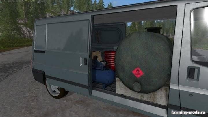 """Мод """"Rumbler Van Service v 1.0"""""""