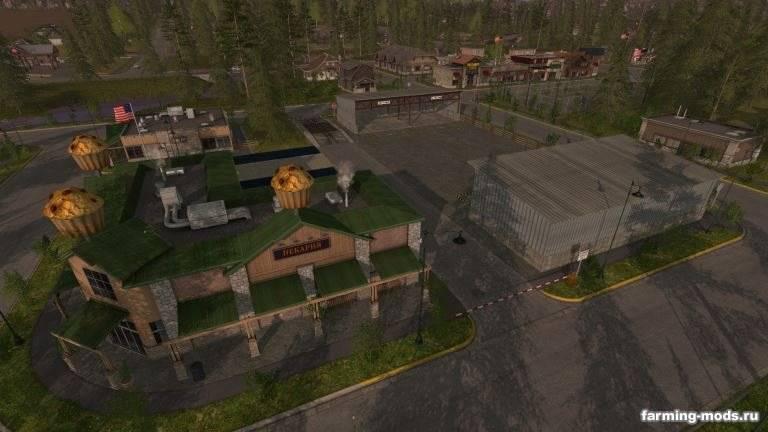"Мод ""Карта Pine Cove Production RUS v 3.2"""