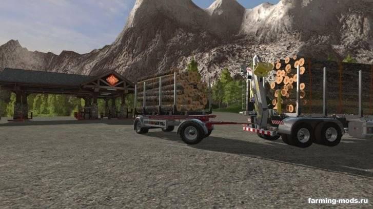 "Мод ""Biobeltz turntable timbertrailer TTLT 500 v 1.0"""