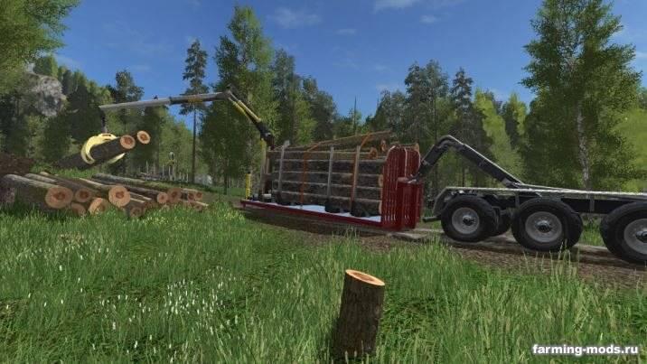 "Мод ""Biobeltz Log Container 750 v 1.0"""