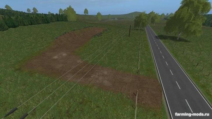 "Мод ""Карта Rolling Pastures NZ v 1.0"""