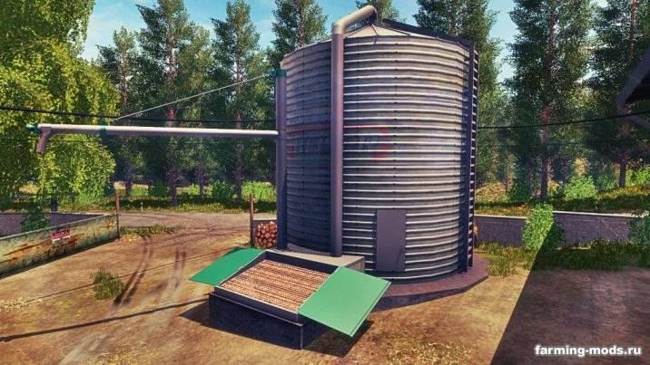"Мод ""Grains Storage Silo Placeable v 1.0"""