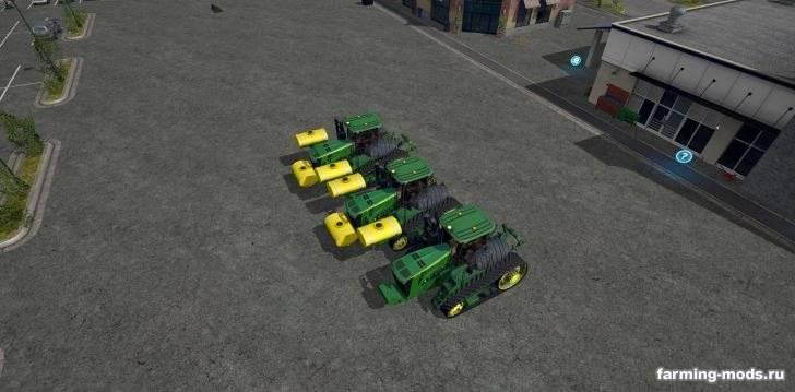 """Мод """"Трактор John Deere 9RT v 1.2"""""""