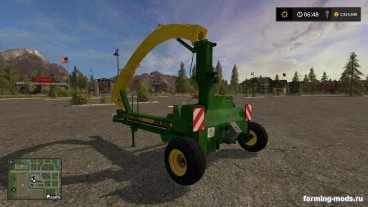 "Мод ""John Deere 3765 Forage Harvester v 1.2"""
