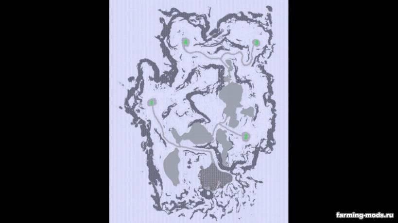 """Мод """"Карта Arctic Logging v 5.1.0.0"""""""