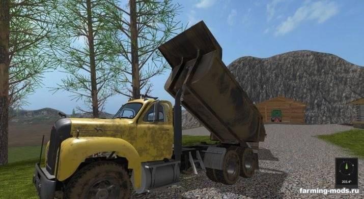"Мод ""Mack Dump and Trailer v 1.0"""