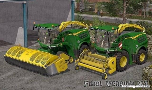 "Мод ""John Deere 8000 Series v 3.0 Final"""