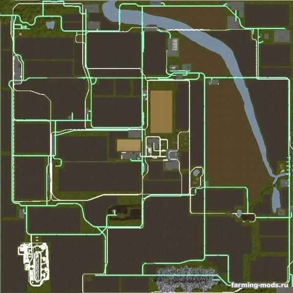 "Мод ""Карта Saxony Multifrucht v 3.1 Finale"""