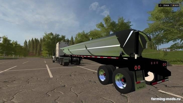 "Мод ""SmithCo side dump trailer v 1.0"""