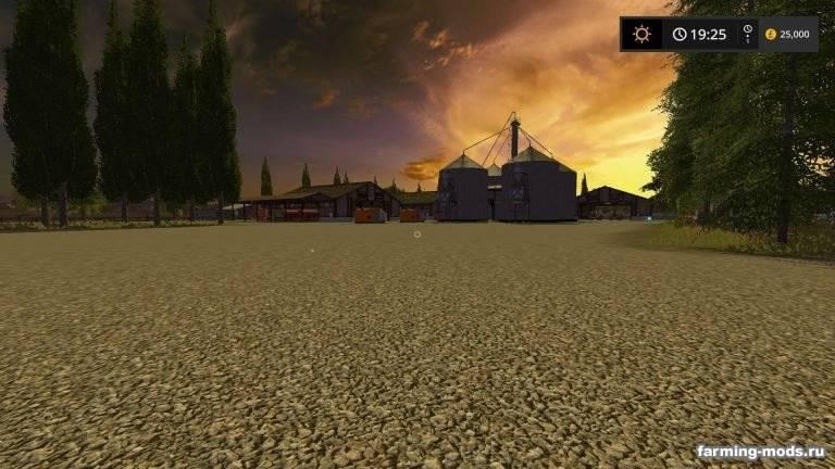 "Мод ""Карта Plains and Simple Seasons v 1.2"""