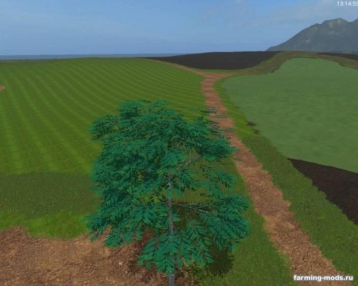 "Мод ""Placeable Eucalyptus v 1.0"""
