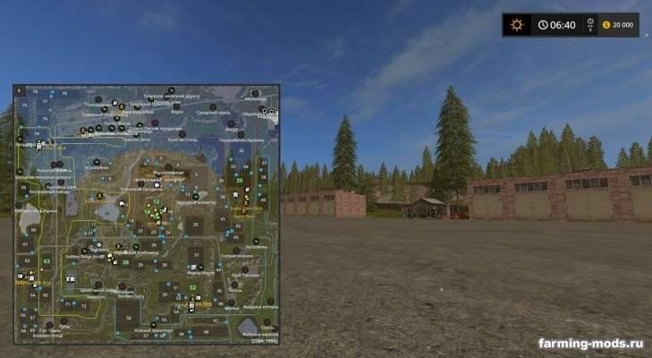 """Мод """"Карта Pleasant Valley 17 v 3.0 RUS"""""""