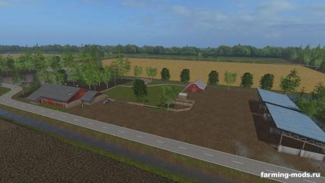"Мод ""Карта Frisian march v 3.0 Ohne Graben"""