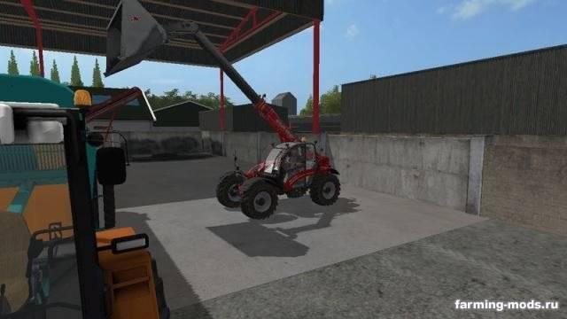 "Мод ""Case Farmlift 735 v 1.0"""