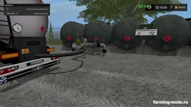 "Мод ""Vanhool Tanker Auflieger v 3.0"""