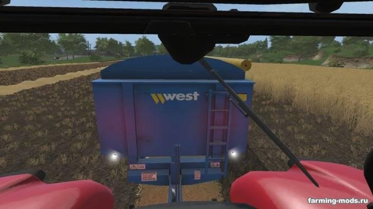 "Мод ""West 12t Grain Trailer v 1.0"""