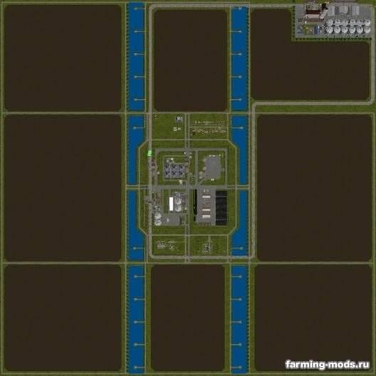 "Мод ""Карта XLFarms X1 v 4.1.1.2"""