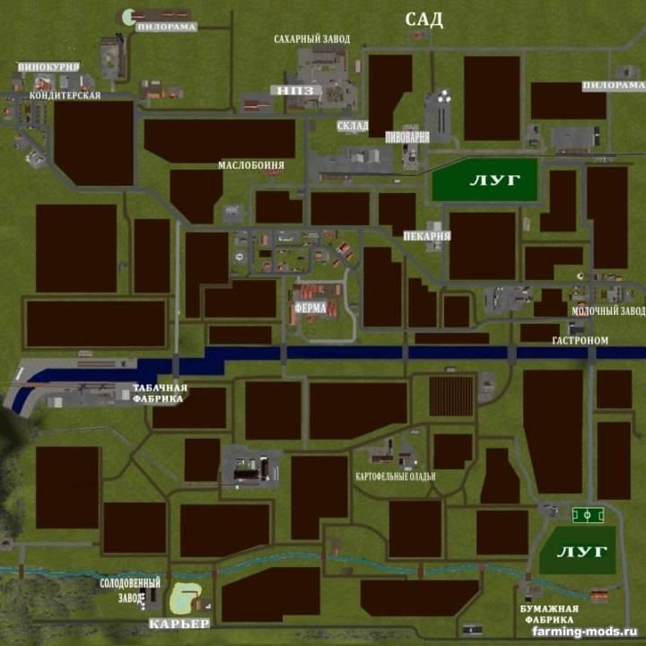 "Мод ""Map Sudhemmern v 12 RUS"""