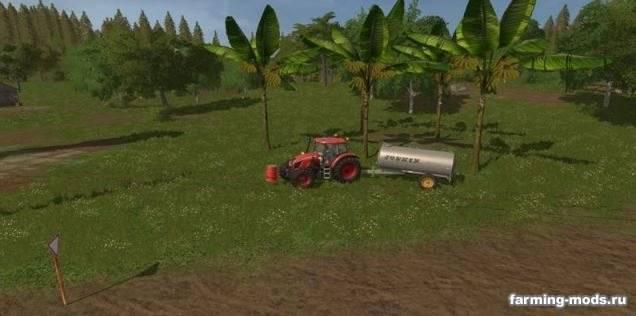 "Мод ""Пак Placeable Coco Tree + Banana Tree v 1.0"""