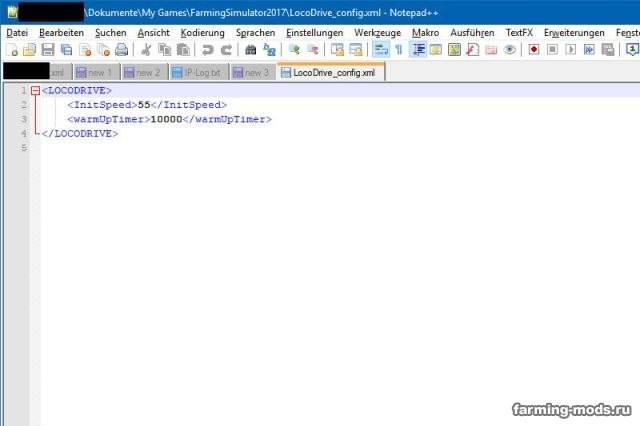"Мод ""Скрипт LocoDrive v 1.1.2"""