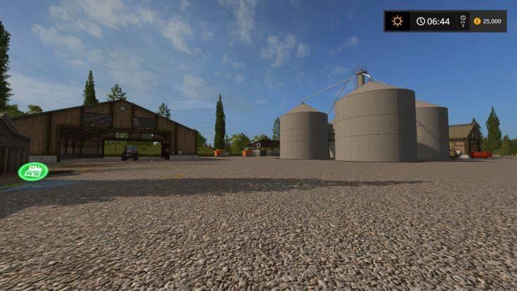 "Мод ""Карта Sherwood Park Farm 2017 by Stevie Seasons update Fix2"""