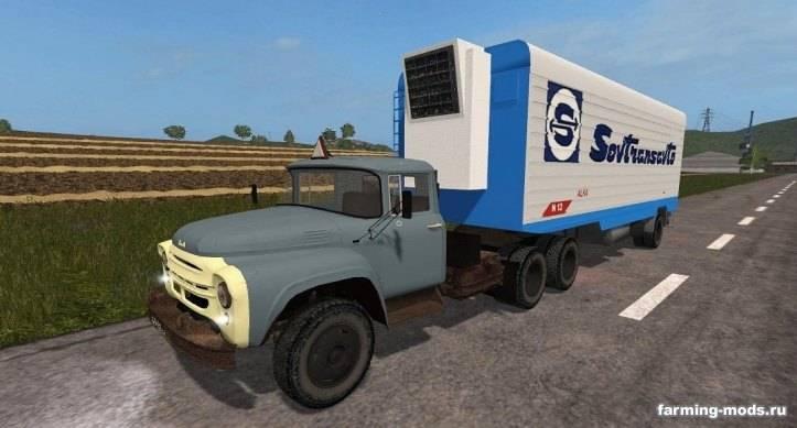 Мод Пак Зил-130 и 133 v 1.6 для Farming Simulator 2017