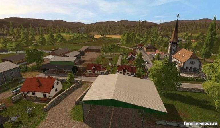 "Мод ""Карта Klingenbach – Season Ready v 1.0"""