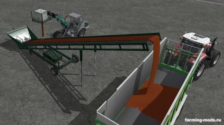 "Мод ""Конвейерная лента - Bales And Wood Conveyor Belt v 1.0"""