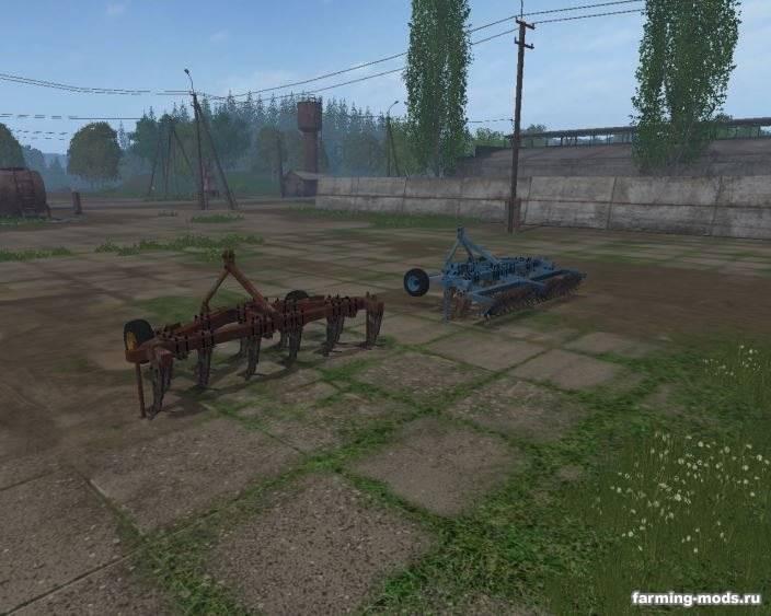 "Мод ""Пак плугов ПЧ 4.5 v 1.0"" для Farming Simulator 2015"