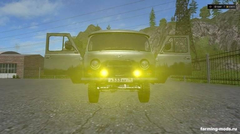"Мод ""УАЗ-452 Буханка v 1.1"""