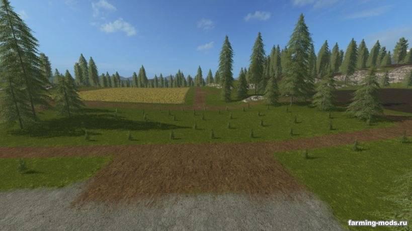 "Мод ""Plantable Spruce Trees v 1.0"""