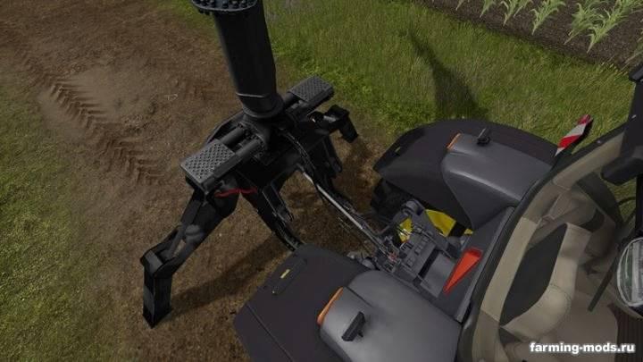 "Мод ""Ponsse Rear Mounted Crane + Lifting Hook Crane v 1.4"""