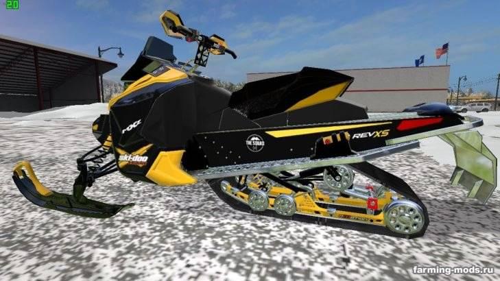 "Мод "" Ski Doo Snowmobile v 1.0"""