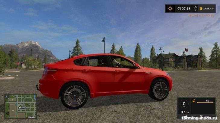 """Мод """"BMW X6 v 1.0"""""""