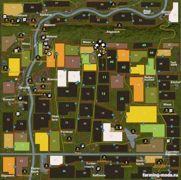 "Мод ""Карта Porta Westfalica v 5.0"""