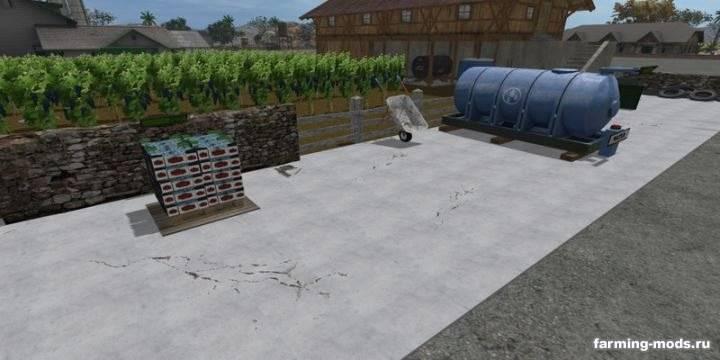 "Мод ""Виноградная ферма - Grape Farm v 1.0"""
