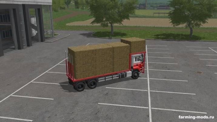 "Мод ""MAN TGS Bale Transport v 1.0"""